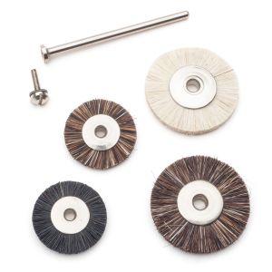 Unmounted Miniature Bristle Wheels