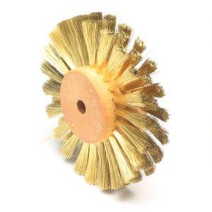 Brass Straight Wire Wheel, Grobet