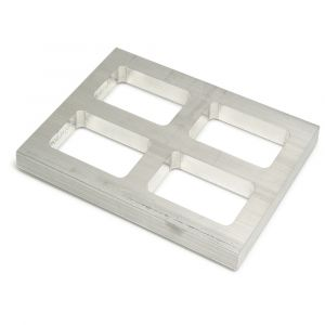 Four Cavity Mold Rubber Frames