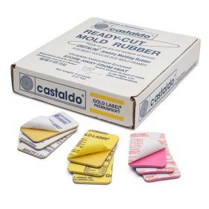 Castaldo Ready-Cut Mold Rubber Rectangles