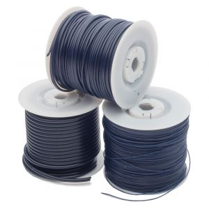 Round Wax Wire on Spools
