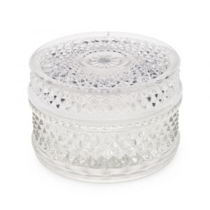 Cut Style Glass Alcohol Cup