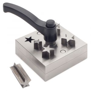 Star Shape Disc Cutter Set with Lever Opener