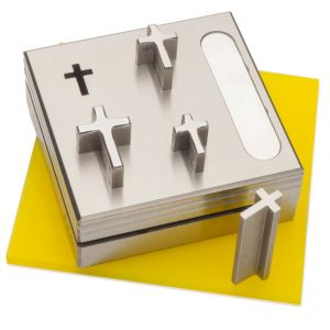 Cross Shape Disc Cutter Set with Storage Box