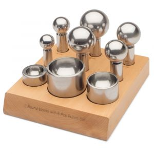 32 to 63 mm Dapping Punch & Die Set