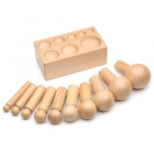 16 to 64 mm Wood Dapping Punch & Die Set