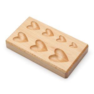 Hearts Wood Shaping Block