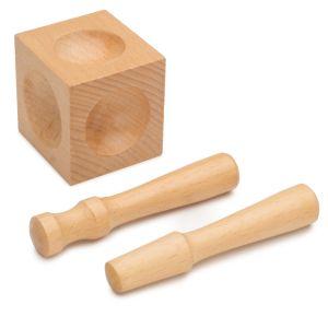 2 punch Wood Dapping Set