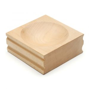 Large Wood Dapping Block