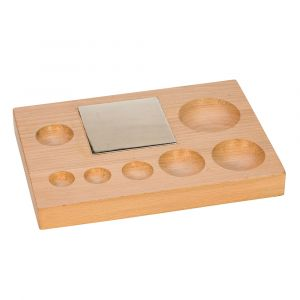 Wood Shaping Block with Steel Bench Block