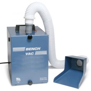 Jeweler's Bench Dust Collector with 2 Stage Filtration