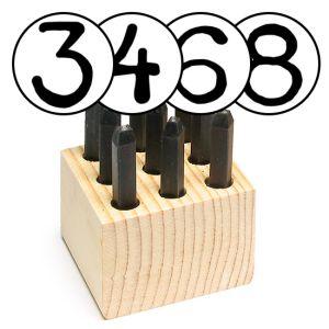 """Number Metal Stamp Sets (1/16-1/8"""")"""