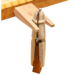 Mahogany Ring Clamp and Bench Pin Set