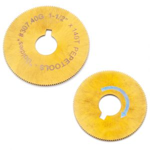 Titanium Nitride Coated Saws for Jump Ring Maker