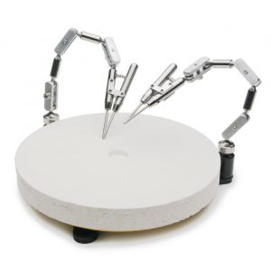 Double Third Hand Rotary Soldering Table