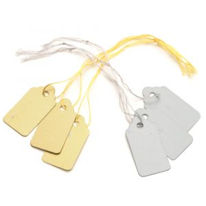 PVC Jewelry String Tags