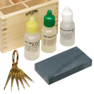 Silver & Gold Precious Metal Testing Kit