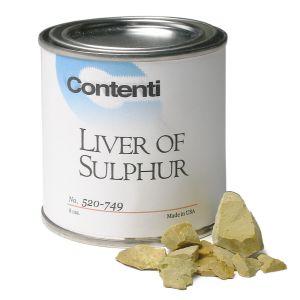 Liver of Sulphur (Sulphurated Potash)