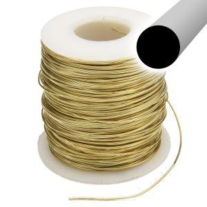 Round Yellow Brass Wire