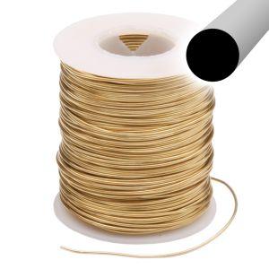 Round Nu Gold Jeweler's Bronze Wire