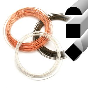 Beadsmith Permanently Colored Fancy Shape Wire