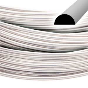Beadalon Half-Round Stainless Steel Wire