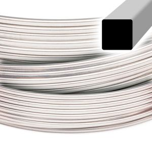 Beadalon Square Stainless Steel Wire