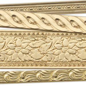 Brass Artisan Pattern Wire