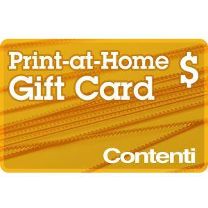 Print-at-Home Gift Card