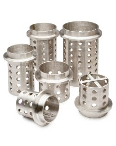 Perforated Stainless Steel Flasks