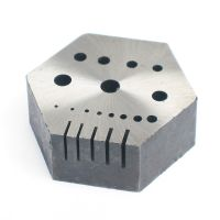 Hexagonal Steel Riveting Block