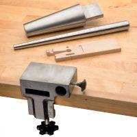 Bench Pin, Anvil, Mandrels, & Holder Set