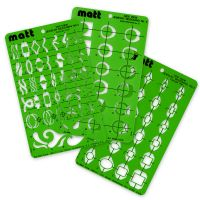 Matt Ring Flexible Acrylic Stencil Templates