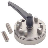 Multi Shape Disc Cutter Set with Lever Opener