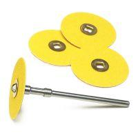 Yellow Snap-On Sanding Discs