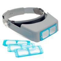 4 Lens Headband Visor Magnifier