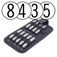 Beadsmith Number Metal Stamp Sets (1.5-8 mm)