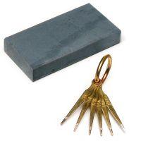 Gold Testing Stone & Needles